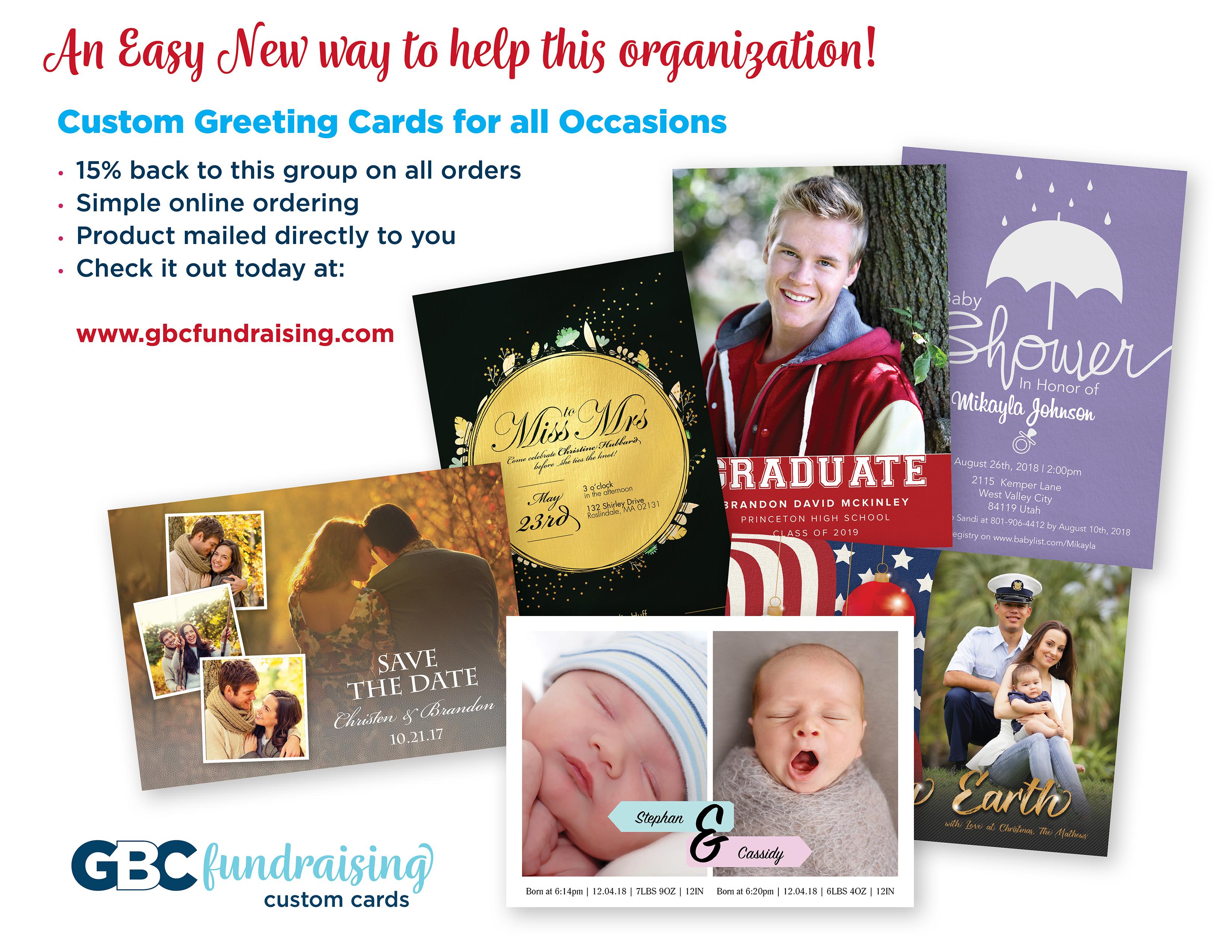 GBC card flyer Spring